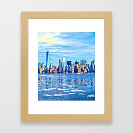 World-knowed Urban Art Design Framed Art Print