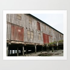 Weathered 2 Art Print