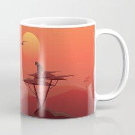 African sunset Coffee Mug