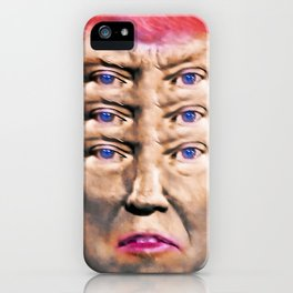 """Trump's Alternative Facts: """"I don't believe anything, I see things"""". iPhone Case"""