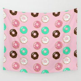 Donut Party Wall Tapestry