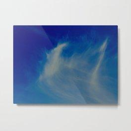 Whispy cloud Metal Print