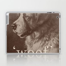 Famous Quotes #1 (anonymous dog, 1941) Laptop & iPad Skin