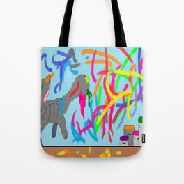 Artistic kitten  Tote Bag