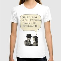 casablanca T-shirts featuring clashablanca by sharon
