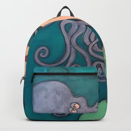 my octopus Backpack