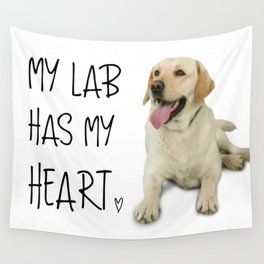 My Labrador Wall Tapestry