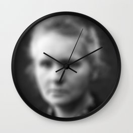 Marie Curie Wall Clock