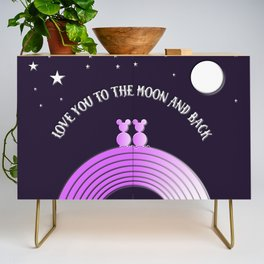 Love You To The Moon and Back Credenza