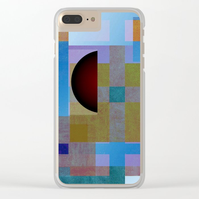 scattering Clear iPhone Case