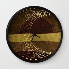 Earth Moon Mama V3 Wall Clock
