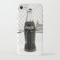 coke iPhone & iPod Cases featuring Frosty Coke by Vorona Photography