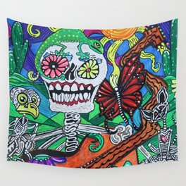 The Happy Dead Wall Tapestry