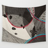 dance Wall Tapestries featuring Dance by Julia Tomova
