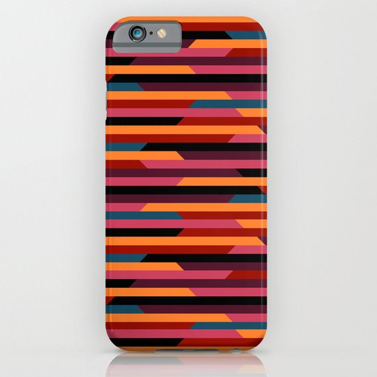 Geometric stripes iPhone & iPod Case