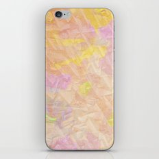 Abstract painting on a stone iPhone & iPod Skin