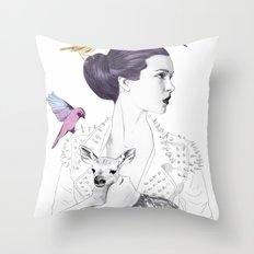 Princess Spike Throw Pillow