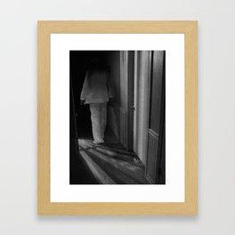 Secret Language Framed Art Print