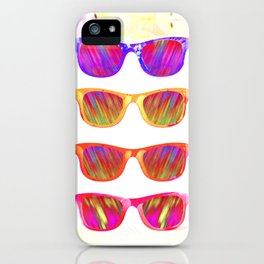 Sunglasses In Paradise iPhone Case