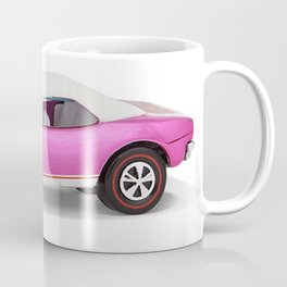 Hot Wheels Pink Party 427 SS Pony Car 67 Redline with white hardtop Coffee Mug