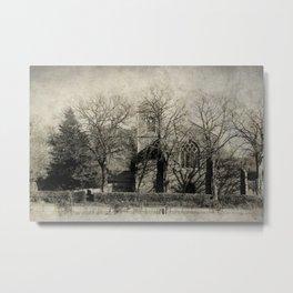 Edgefield Church Metal Print