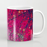 be happy Mugs featuring Happy by Olivia Joy StClaire
