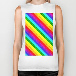 Rainbow Biker Tank