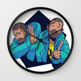 yes no Meme Wall Clock