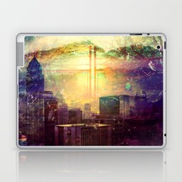 Abstract City Scape Laptop & iPad Skin
