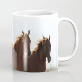 Wyoming wild horses Coffee Mug