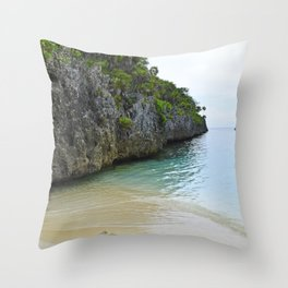 Quiet Lagoon Throw Pillow
