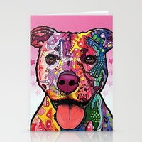 rottweiler Stationery Cards featuring Rottweiler Dog by trevacristina