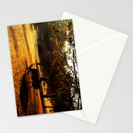 Bench on Hill Stationery Cards