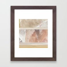 Fragments 18 abstract painting Framed Art Print