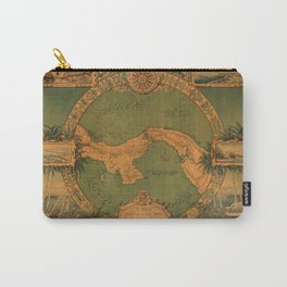 Historical Map of Panama Carry-All Pouch