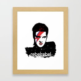 We Are All StarDust Rebel bag Framed Art Print