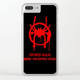 Into the Spider-Verse Clear iPhone Case