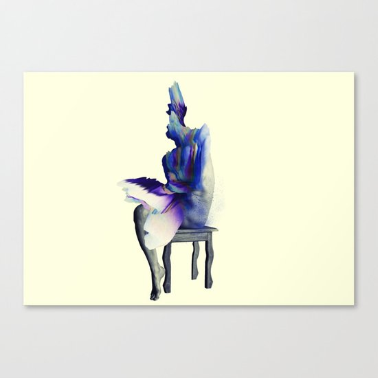 I don't bow down to you. Canvas Print