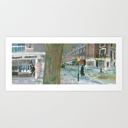 London #6. Connaught Street W2 2AY Art Print
