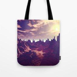 Arizona Canyon Sunshine Tote Bag