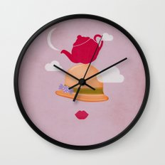 MRS CLOUD Wall Clock