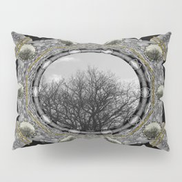 Metal power on Mother Earth Pop Art Pillow Sham