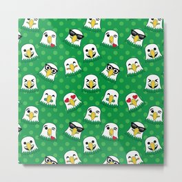 Eagles Emojis Metal Print