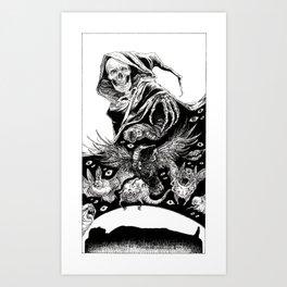 Tarot - Death Art Print