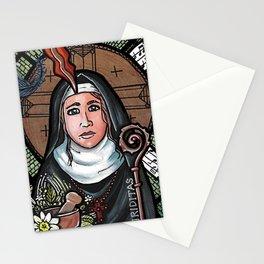 Hildegard von Bingen Stationery Cards