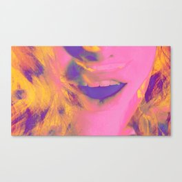 Linda Scott's Bubblegum Pop Canvas Print