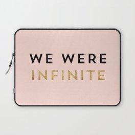 We were infinite. Laptop Sleeve