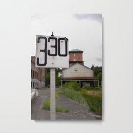 330 Metal Print