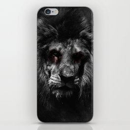 The Undead King iPhone Skin