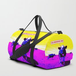 Psychedelic Cows Duffle Bag